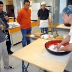 蕎麦打ちを体験 北昴輝学舎10月第2例会