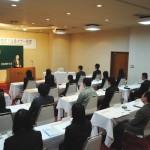 14名が社会人への第1歩~2011合同入社式