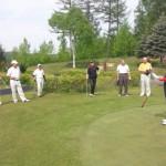 2011年度第1回親睦ゴルフコンペを開催