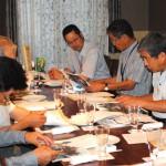 「鉄くずの価格と日本経済」プラチナ会例会
