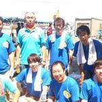 <青年部・北昴輝学舎>ぼんち祭りを手伝いました